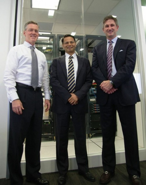 Steve Leonard, Sharat Sinha and Mark Anderson