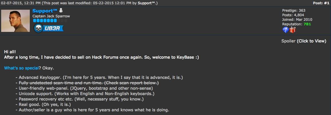 Hatria Keylogger Builder V1.24