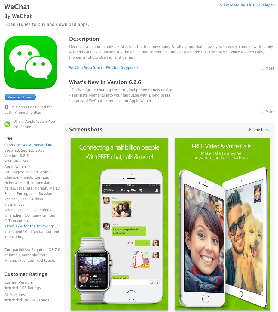 Malware XcodeGhost Infects 39 iOS Apps, Including WeChat, Affecting