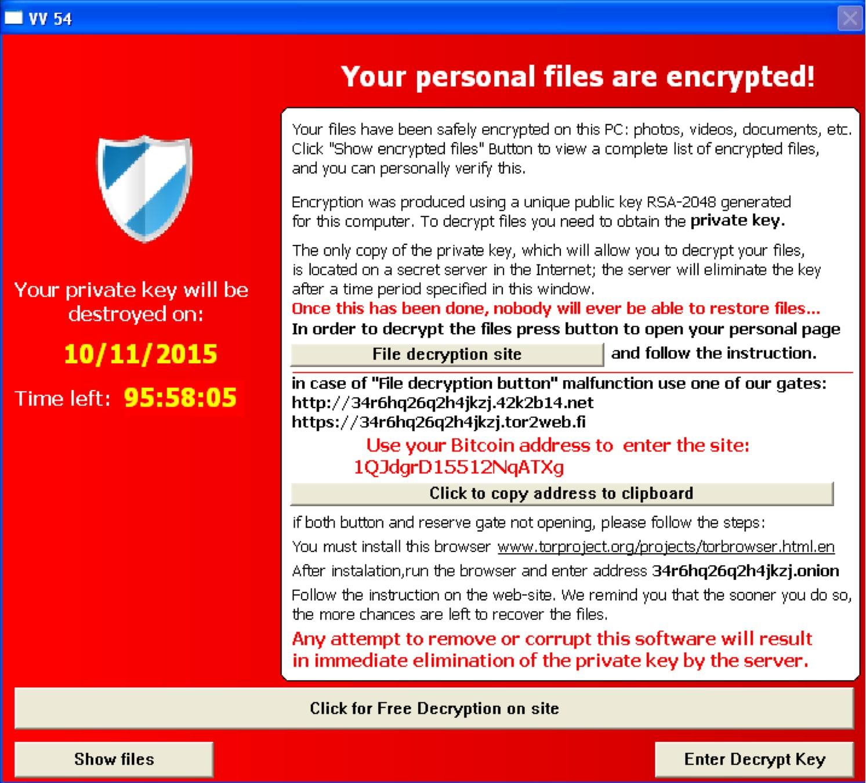 Tesla Crypt -- Stinn Tech Virus Removal