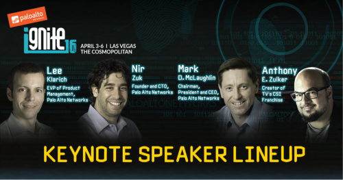 ignite 2016 keynote lineup