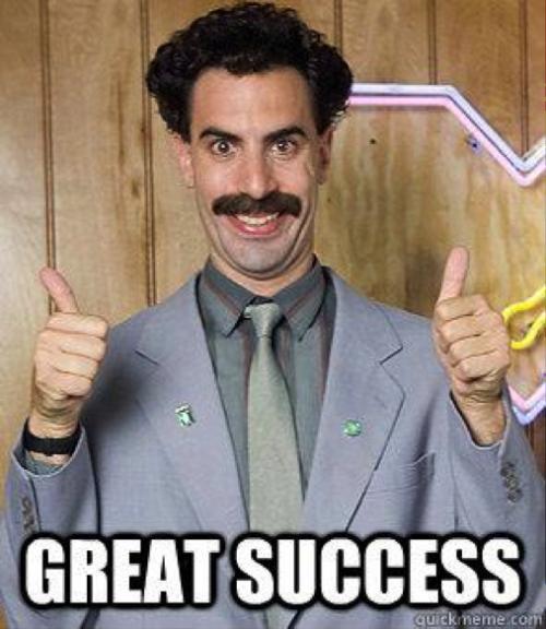 great success-22
