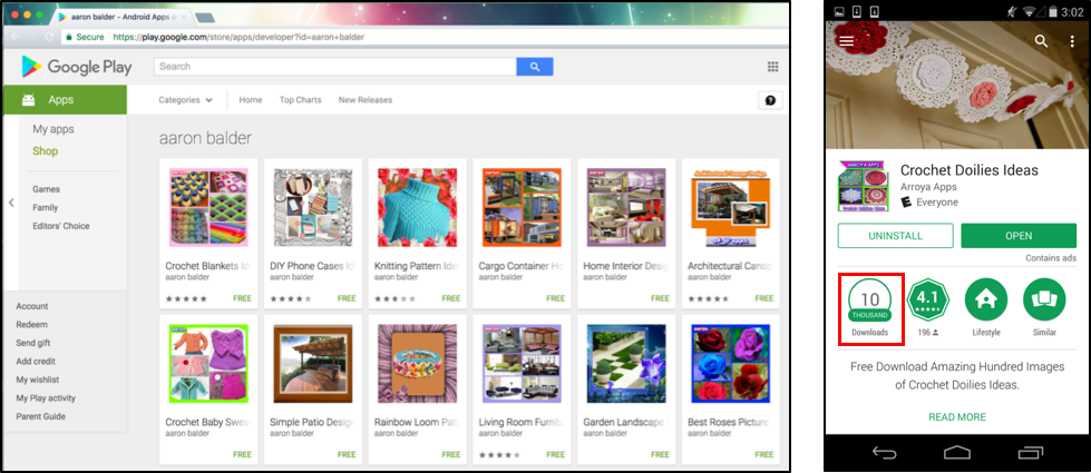 Google Play Apps Infected with Malicious IFrames - Palo Alto