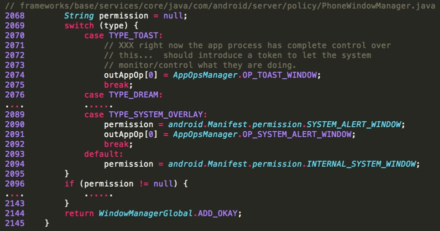"""Android Toast Overlay Attack: """"Cloak and Dagger"""" with No"""