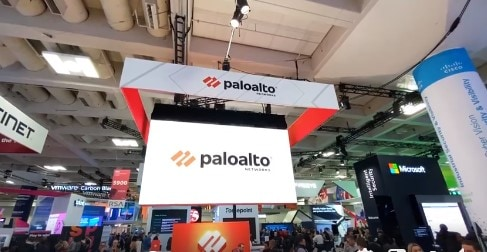 Palo Alto Networks exhibited on the show floor at RSAC 2020