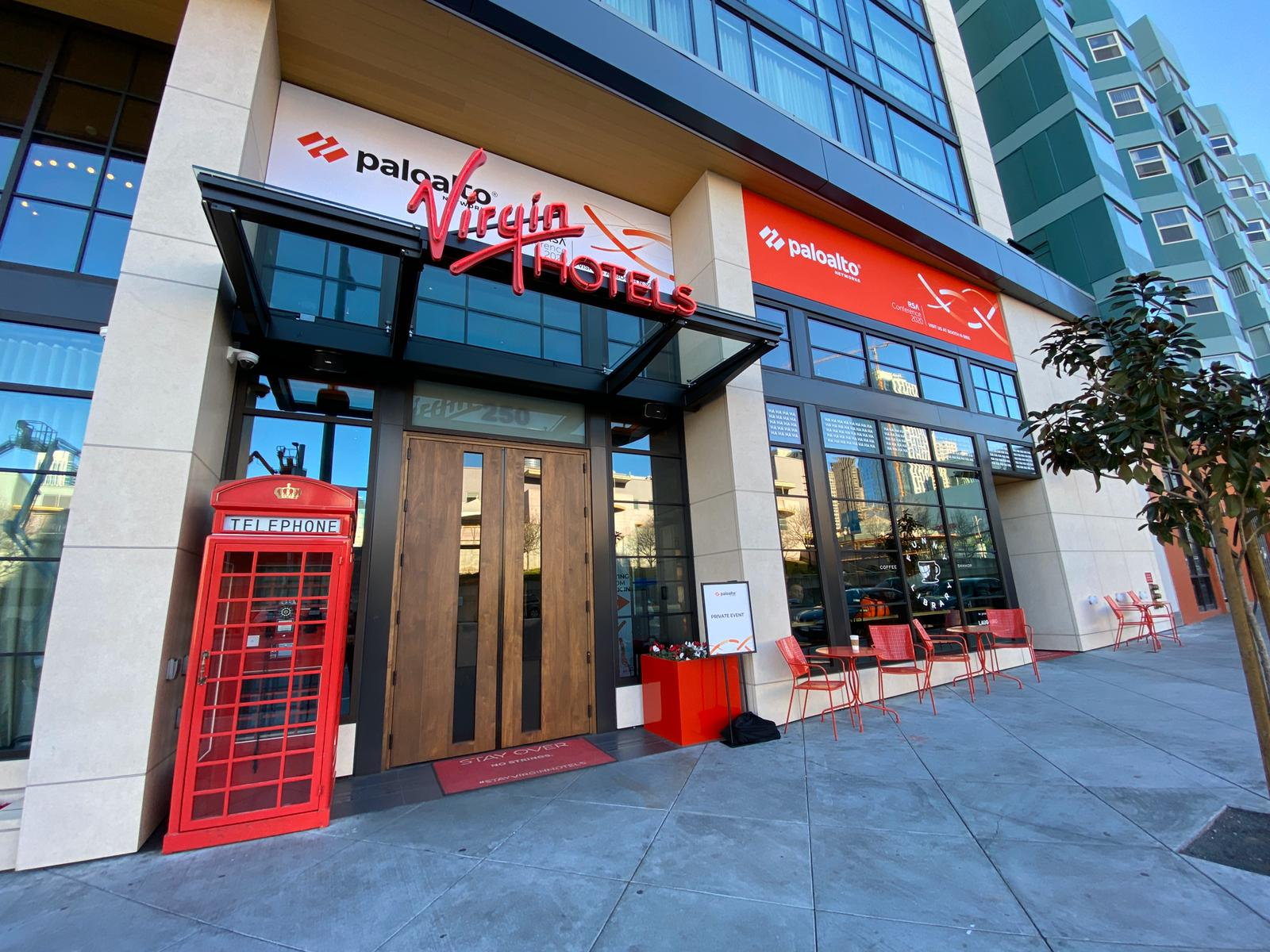 Palo Alto Networks took over the Virgin Hotel at RSAC 2020.