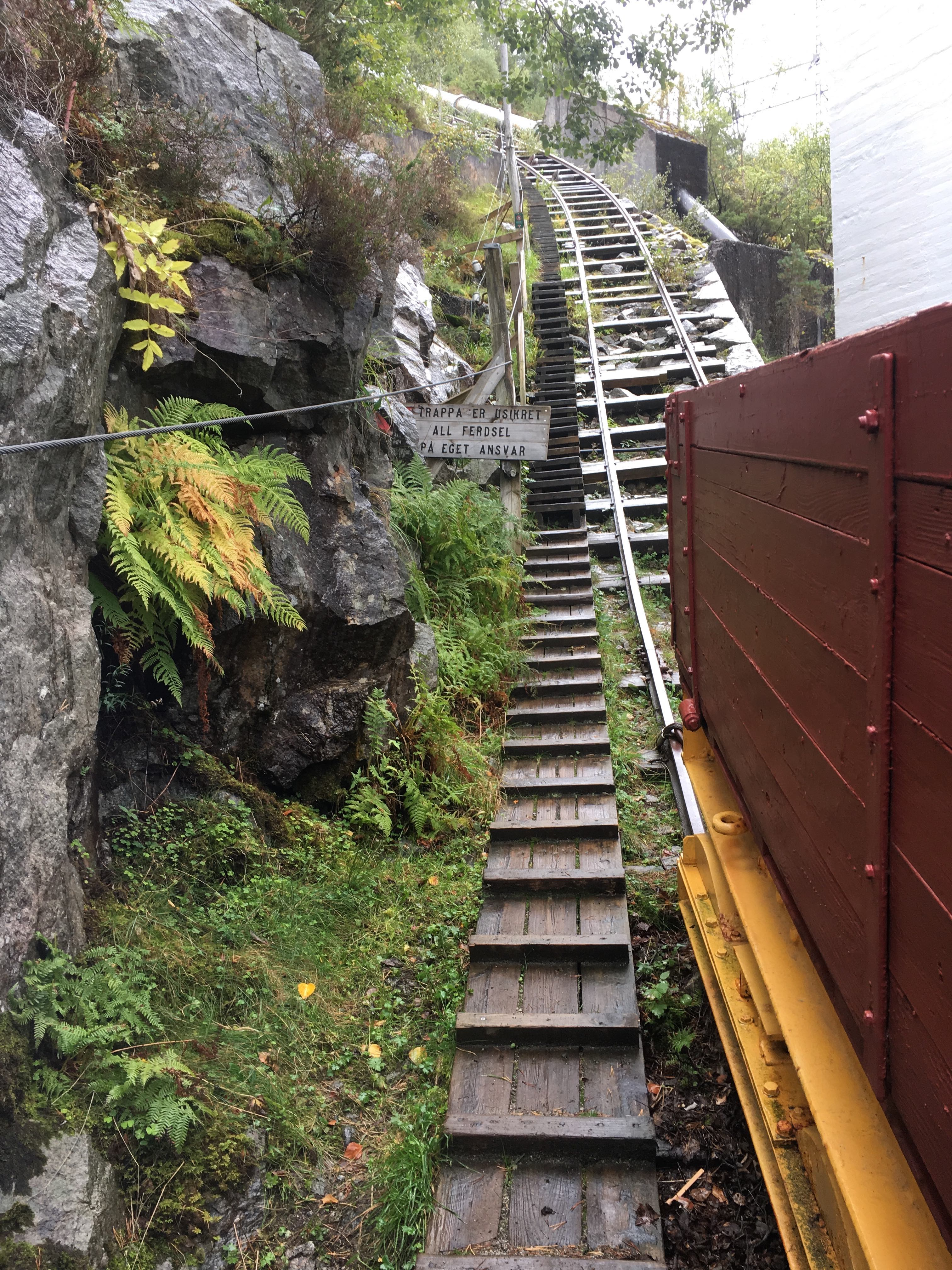 The Flørli stairs in Lysefjorden, Norway, feature 4,444 wooden steps. John Kindervag took this photograph on a trip near where his grandfather spent his childhood, and uses the steps as an image to illustrate his concept of the Zero Trust learning curve.