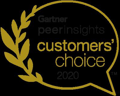 Gartner Peer Insights Customers' Choice 2020 logo