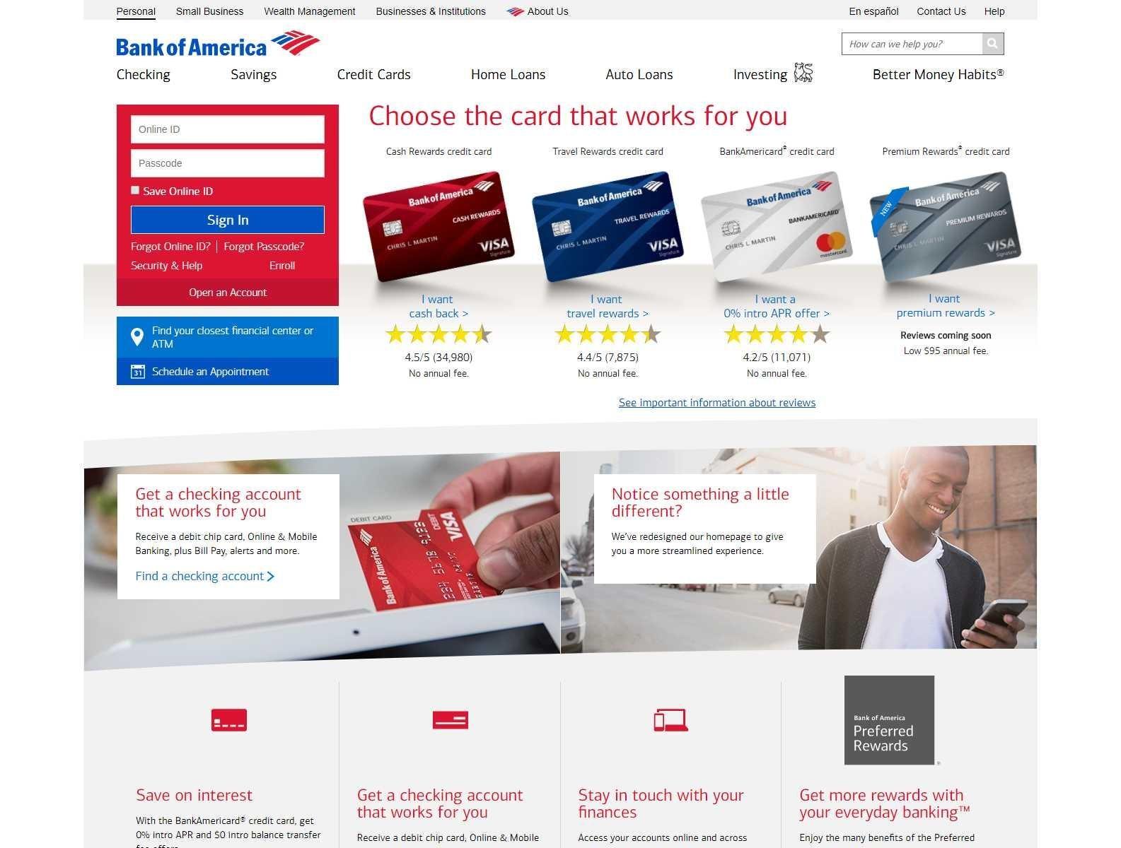 図4. 銀行サイトを模したフィッシングサイト