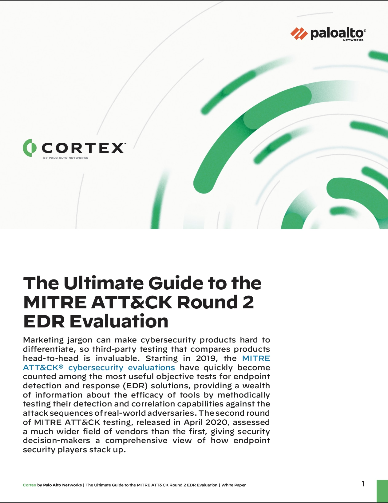 The Ultimate Guide to the MITRE ATT&CK Round 2 EDR Evaluation
