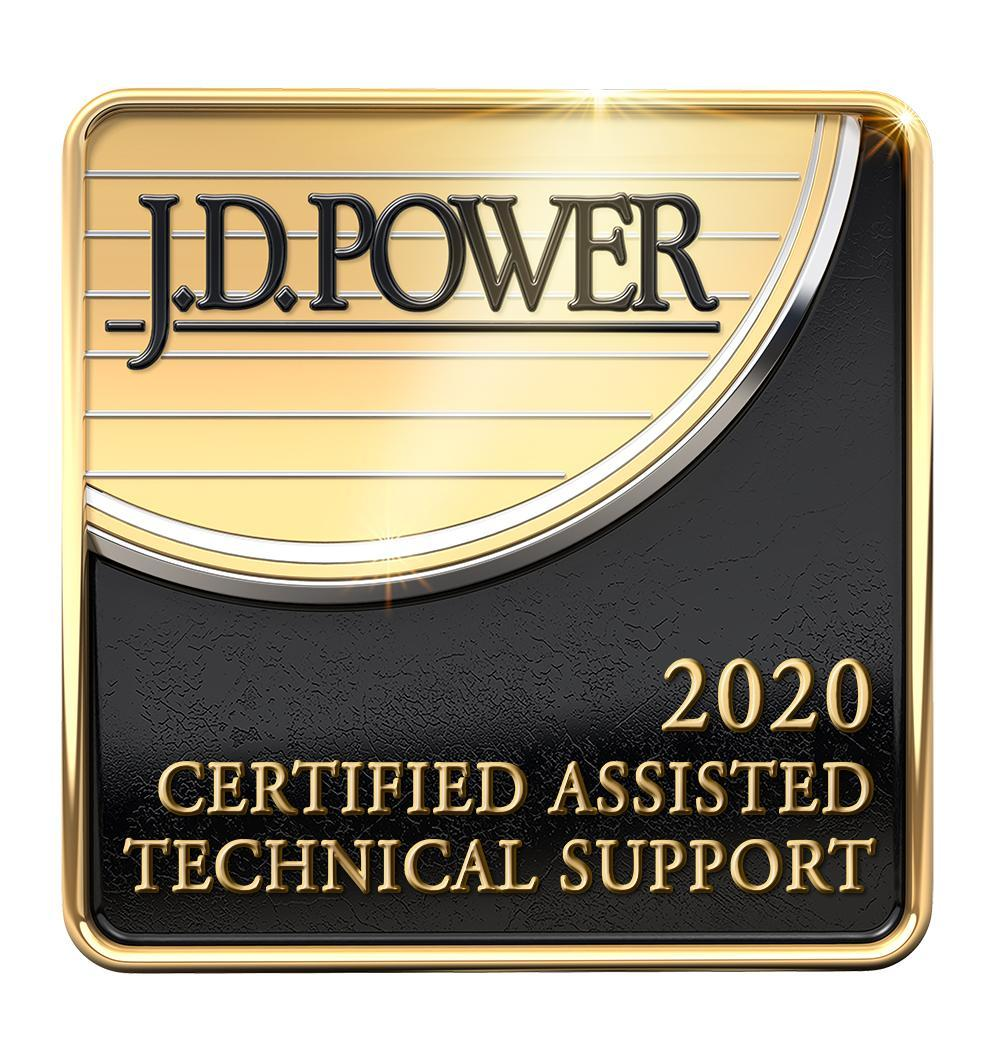 J.D. Power 2020 Certified Assisted Technical Support, demonstrating the commitment of Palo Alto Networks to delivering outstanding support.