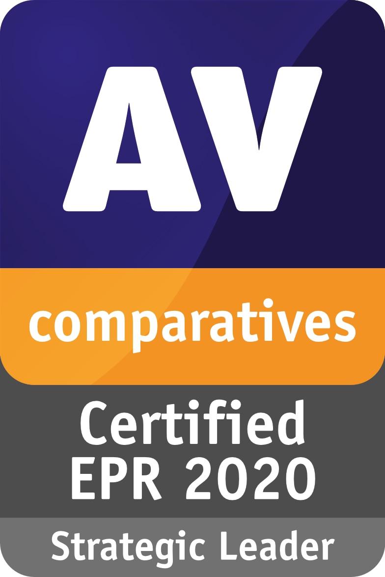 AV-Comparatives Certified EPR 2020 Strategic Leader
