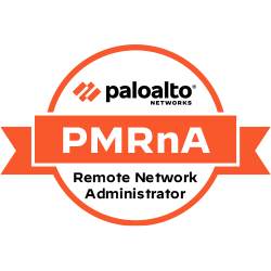 The Palo Alto Networks Micro-Credential Remote network Administrator (PMRnA) is a post-sales micro-credential focused on the implementation of SASE Remote Networks and SD-WAN.