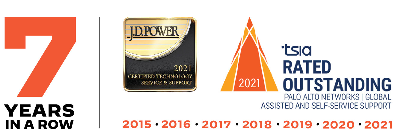 7 Straight Years of Delivering Outstanding Customer Service