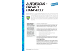 View the AutoFocus Privacy datasheet