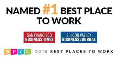 2016 Bay Area Best Place to Work
