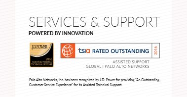 Palo Alto Networks Provides Outstanding Customer Service